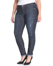 Bottoms - Rebel By Right 5 Pkt Skinny Jean (Plus)