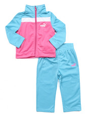 Puma - COLOR BLOCK TRICOT TRACK SET (INFANT)