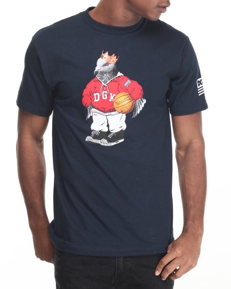 Dgk - Men Navy American Icon Tee - $24.00