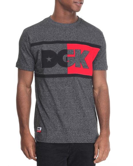 Dgk - Men Black Anthem Custom Knit Tee - $35.00