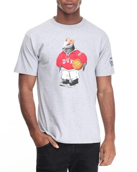 Dgk - Men Grey American Icon Tee - $19.99