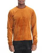 All Night Velour Sweatshirt
