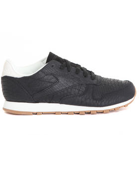Women - CLASSIC LEATHER CLEAN EXOTIC SNEAKERS