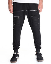 Men - American Stitch FRONT ZIP JOGGER