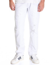 Buyers Picks - White Distressed Jean
