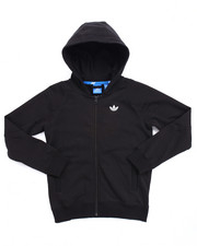 Sizes 8-20 - Big Kids - Junior Sport Luxe Moto Full-Zip Hoody (8-20)