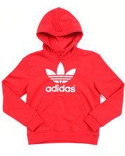 Hoodies - Junior Adi Trefoil Hoody (8-20)