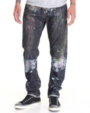 Buyers Picks - Painted Night Moto - Style Denim Jeans