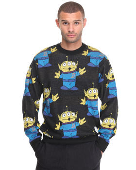 Men - Jr x Toystory hello alien sweater