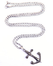Accessories - Skull Anchor Necklace