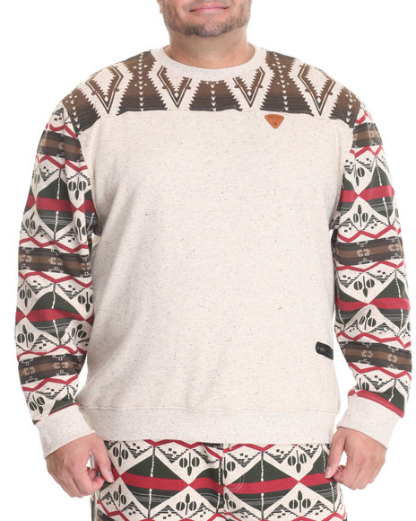 Parish - Men Khaki Printed Sweatshirt (B&T)