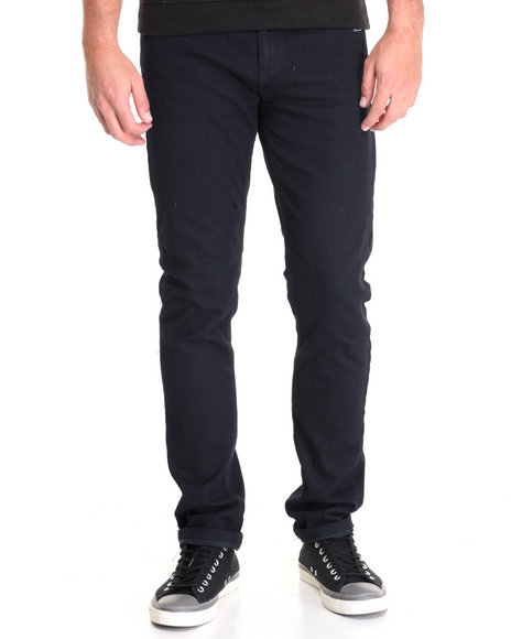 Buyers Picks - Men Black Slim Rinsed Denim Jeans