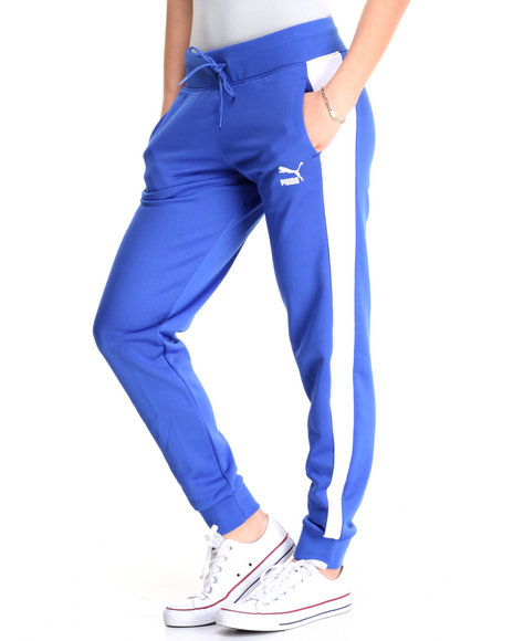 Puma - Women Blue No. 1 Logo Sweat Pants