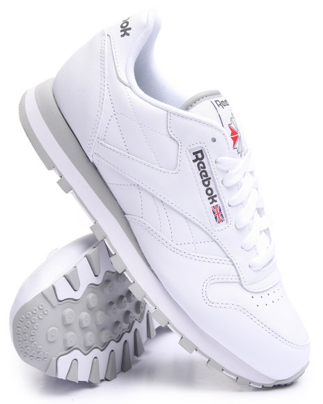 Reebok - Men White C L Leather
