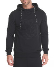 Men - Hoodie w Embossed Tiger