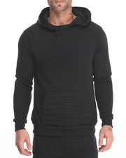 Buyers Picks - Cowl Hoodie with Zig-Zag EMB Detail