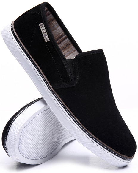 Rocawear - Men Black John 3 Slip-On Sneakers - $50.00