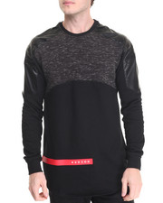 Men - H Shield Crewneck Fleece