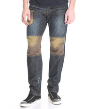 Jeans & Pants - Destruct Straight Fit Jeans