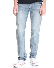 Men - Paine Washed Denim Jeans