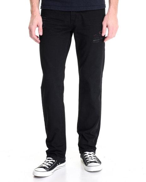 Winchester - Men Black Fulton Rip & Repair Twill Pants - $44.99