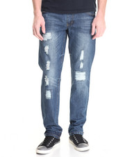 Jeans & Pants - Woods Rip & Repair Denim Jeans