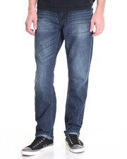 Jeans & Pants - Raw Diamond Heavy Embroidered Back - Pocket Denim Jeans