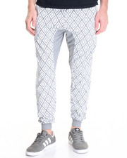 Jeans & Pants - Diamond Print Jogger