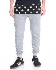 Jeans & Pants - Cut-Sewn Star Jogger