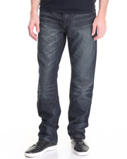 Men - Raw Diamond Cross - Applique Back - Pocket Denim Jeans