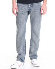 Men - Raw Diamond Heavy Embroidered Flap - Pocket Denim Jeans
