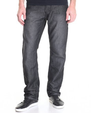Men - Raw Diamond Reverse - Applique Denim Jeans