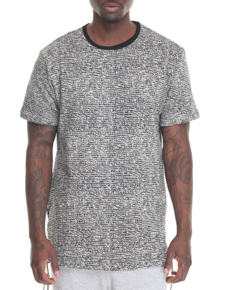 Hudson Nyc - Men Grey Laced S/S Tee