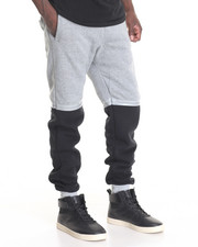 Men - Colorblock Jogger w Tape Detail
