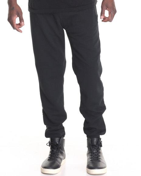 Buyers Picks - Men Black Ribbed Jogger