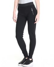 Bottoms - Tara Zipper Pockets  Ponte Legging