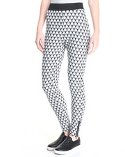 Bottoms - Jepsen Diamond Textured Ponte Legging