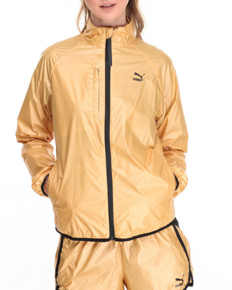 Puma Women Windrunner 2 Jacket Gold Small