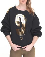 Sweaters - Foil Logo Crew Sweatshirt