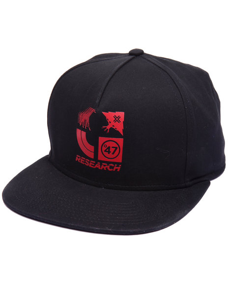 Lrg Men 4 Icon Strapback Black