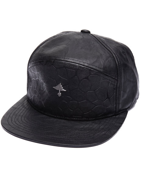 Lrg Men Above The Crowds Strapback Black