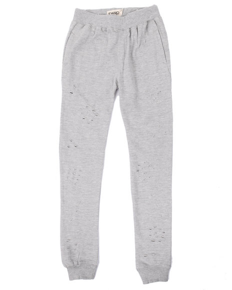 Arcade Styles - Boys Grey Distressed Joggers (8-20) - $22.99