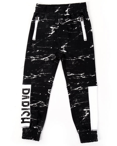 Parish - Boys Black French Terry Heritage Joggers (4-7) - $42.00
