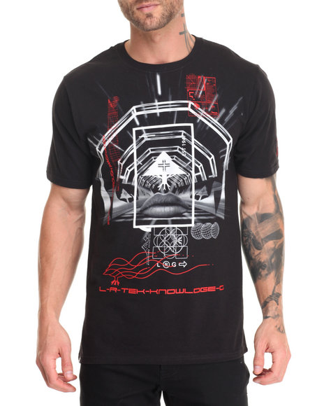 Lrg - Men Black Highway T-Shirt