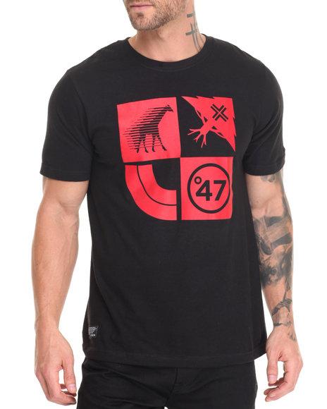 Lrg Men Lifted Cluster T-Shirt Black Large