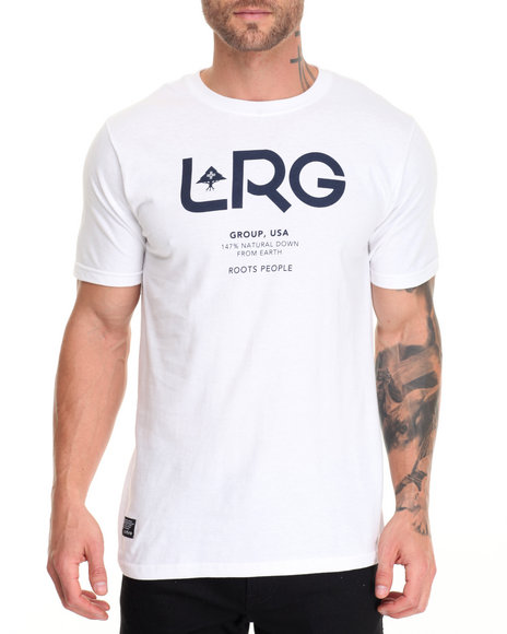 Lrg Men Earth Down T-Shirt White X-Large