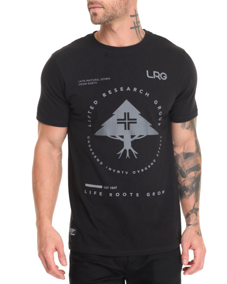 Lrg - Men Black Rc Pinnacle T-Shirt