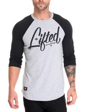 LRG - Research 3/4 Raglan