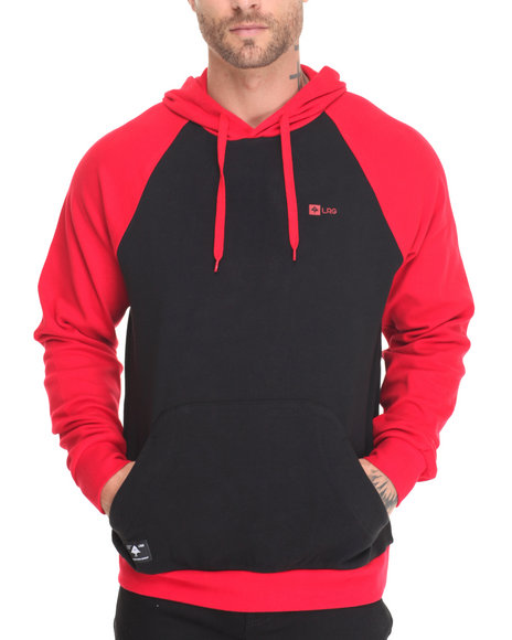 Lrg - Men Black Trilogy Pullover Hoodie