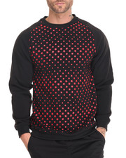 Basic Essentials - Stars Fleece Printed Raglan Pullover